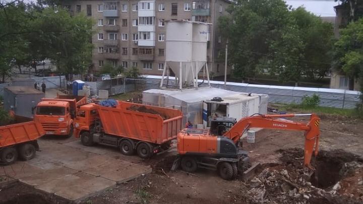 Эксперты запретили строить дом на Шота Руставели в Уфе