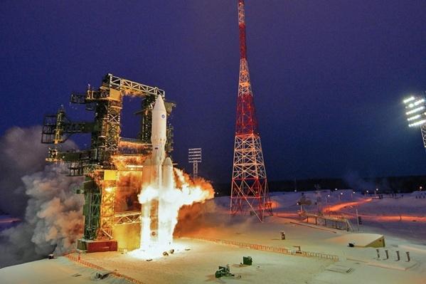 Пуск ракеты-носителя произведен в 08:50