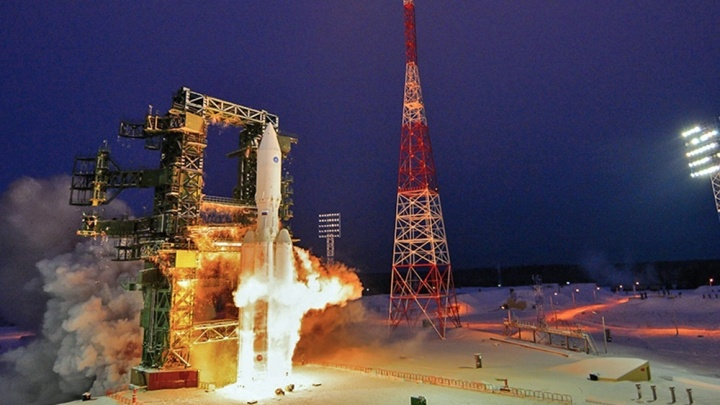С космодрома Плесецк запустили ракету-носитель «Ангара-А5»