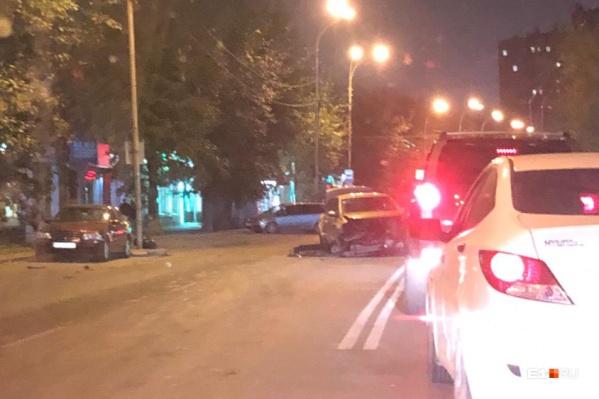 ДТП произошло на улице Белинского