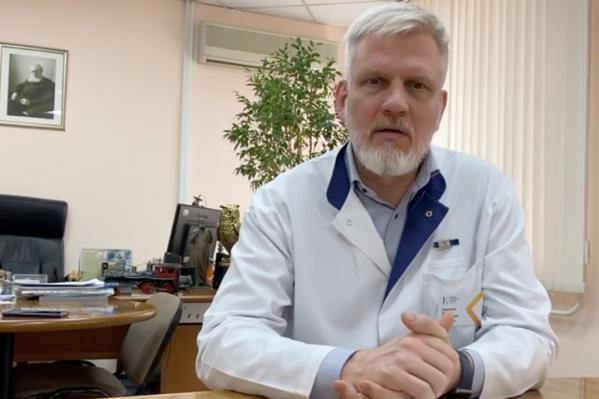 Главврач краевой больницы Егор Корчагин