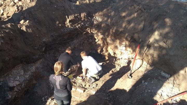 В центре Самары нашли руины старинной усадьбы