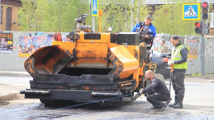 В Архангельске до 21 августа продлили перекрытие участка Обводного канала