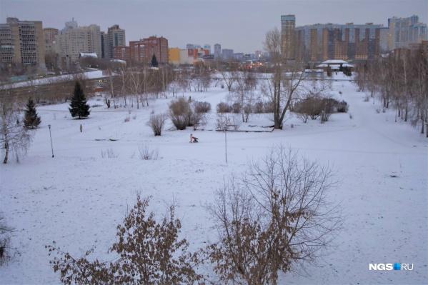 Зеленая зона в Шевченковском жилмассиве находится в частной собственности, но местные жители много лет просят обустроить здесь сквер