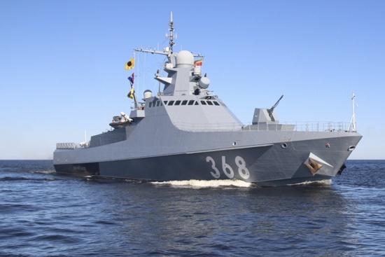 Назван корвет в честь Героя Советского Союза контр-адмирала Василия Быкова