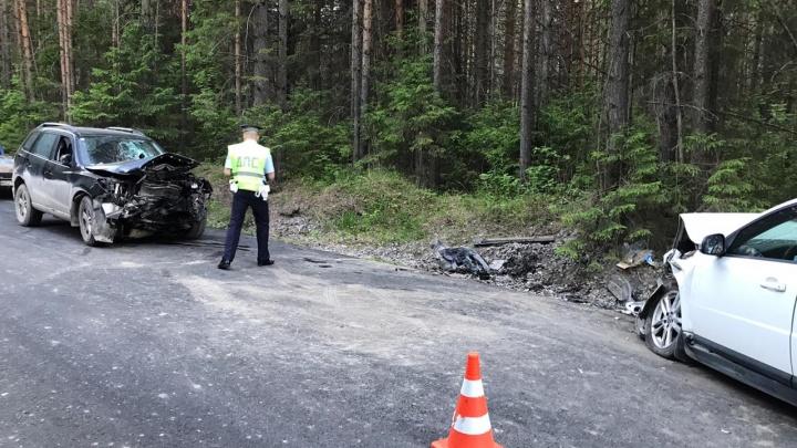 «Водитель с места аварии убежал в лес. А сейчас ему операцию делают»: подробности лобового ДТП под Ревдой