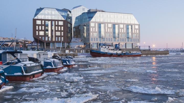 На зимнюю уборку причалов в Архангельске потратят 280 тысяч рублей