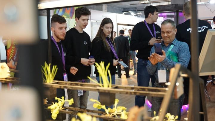 Студенты «Школы Икс» представили теплицы будущего на престижной выставке в Москве