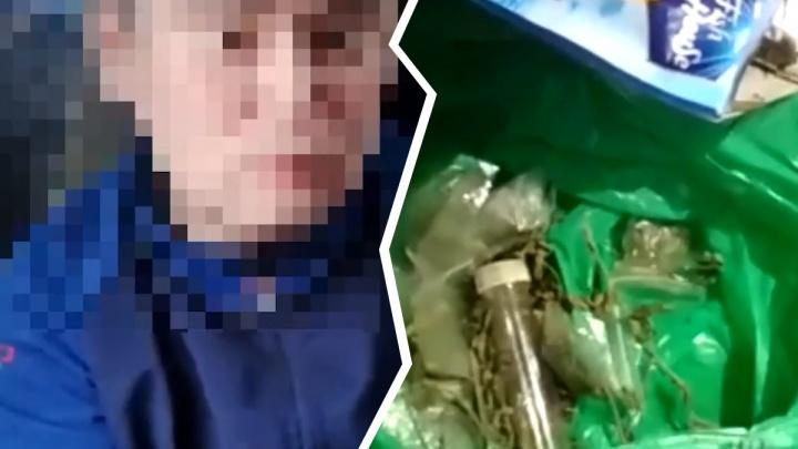 Нижегородские полицейские задержали драгдилера, изъяв у него около 2,5 кг героина и марихуаны