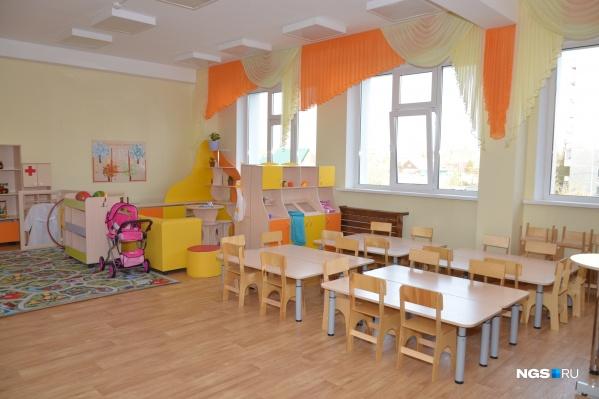Мэрия объяснила, почему в новый корпус детского сада в Первомайском районе не принимают детей