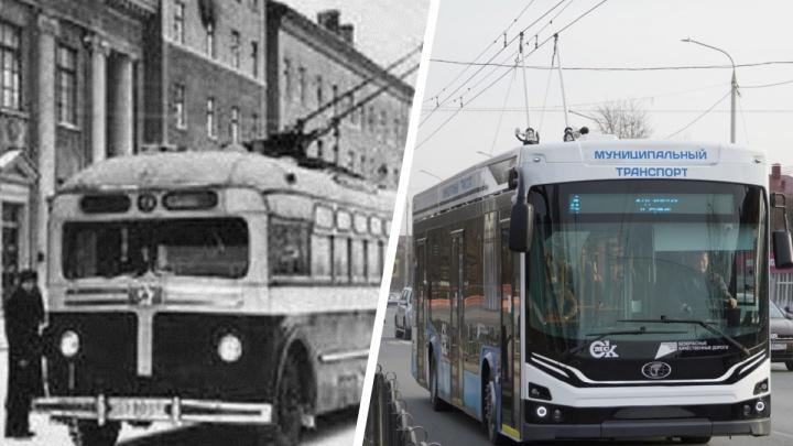 От МТБ до «Адмирала»: какие троллейбусы ездили по улицам Омска