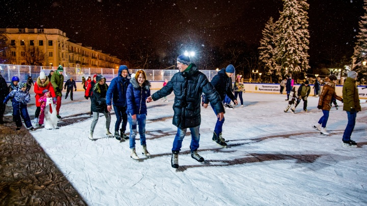 Ледовый каток на Советской площади в Ярославле в этом году работать не будет