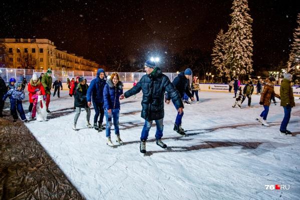Впервые за несколько лет в Ярославле не будет катка на Советской площади