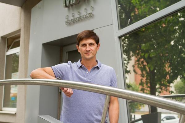Руководитель центра недвижимости «МАН» Николай Савин