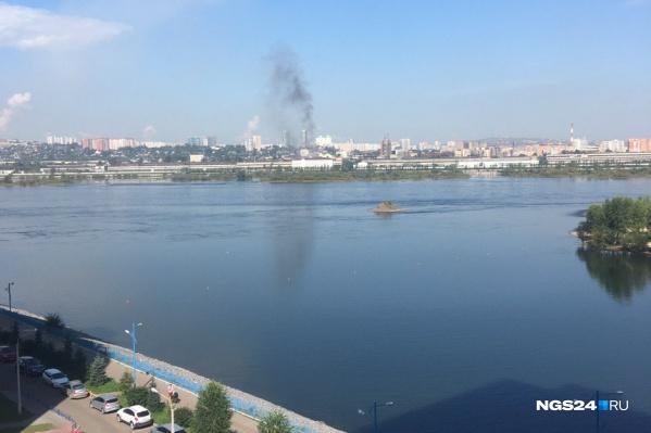 Пожара не было, только дым
