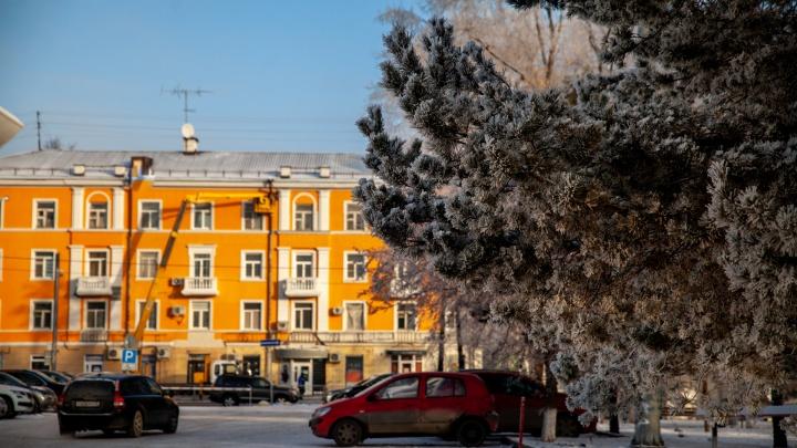В начале декабря в Тюмени и области ожидаются морозы до -24градусов