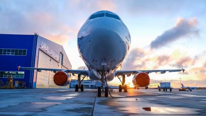 «Уральские авиалинии» на время отменили авиарейс из Архангельска до Москвы