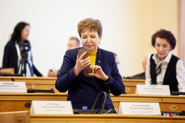 Ранее чиновница совмещала должности заместителя губернатора и руководителя областного департамента социального развития