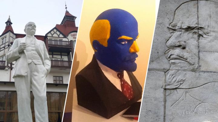 Рядом с каким Лениным хочешь жить ты? Фотографии памятников вождю революции со всей страны