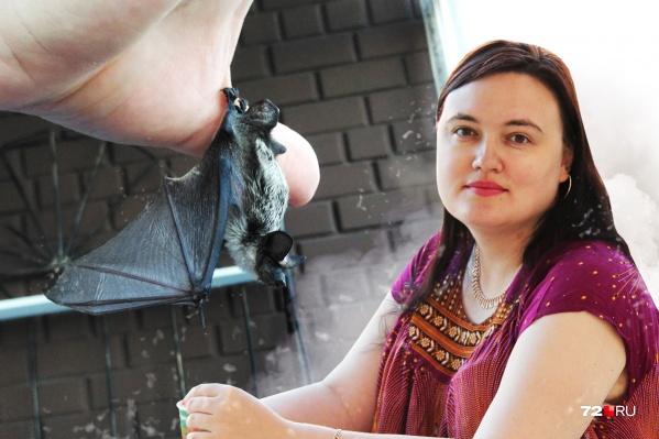 Мария Орлова, кандидат биологических наук Тюменского государственного университета. Она занимается изучением летучих мышей
