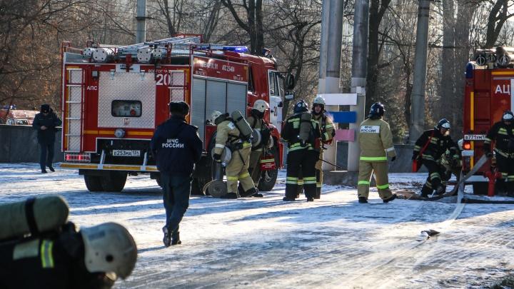 «Огонь вспыхнул в оркестровой»: МЧС эвакуировало артистов из здания волгоградского цирка