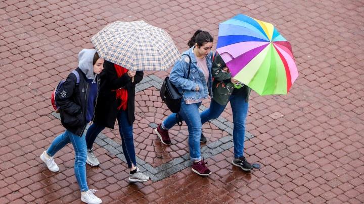Последние выходные лета в Нижнем Новгороде будут дождливыми и пасмурными