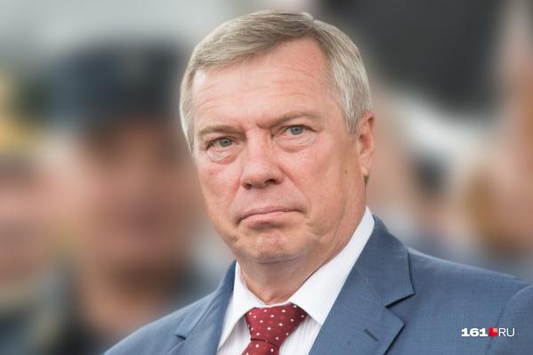 Больше всего голосов Василий Голубев в Милютинском районе — 85,71%