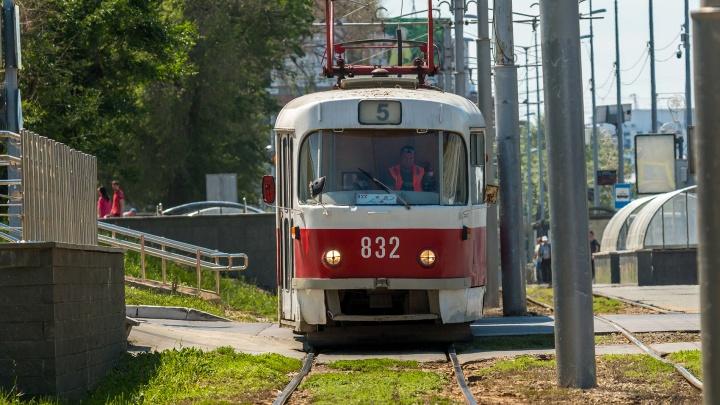 До «Самара Арены» запустят ещё три трамвая