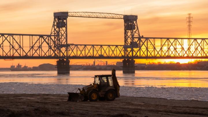 Северодвинский мост будут закрывать по ночам на ремонт до 31 января