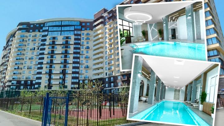 В Челябинске выставили на продажу бассейн в жилом доме