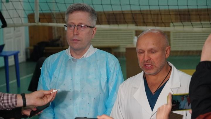 Начмед БСМП-1 рассказал о том, как врачи дали разрешение на транспортировку Навального