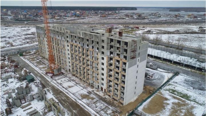 Недостроенные дома в ЖК «Олимпия» и «Москва» в Тюмени возведет другая компания