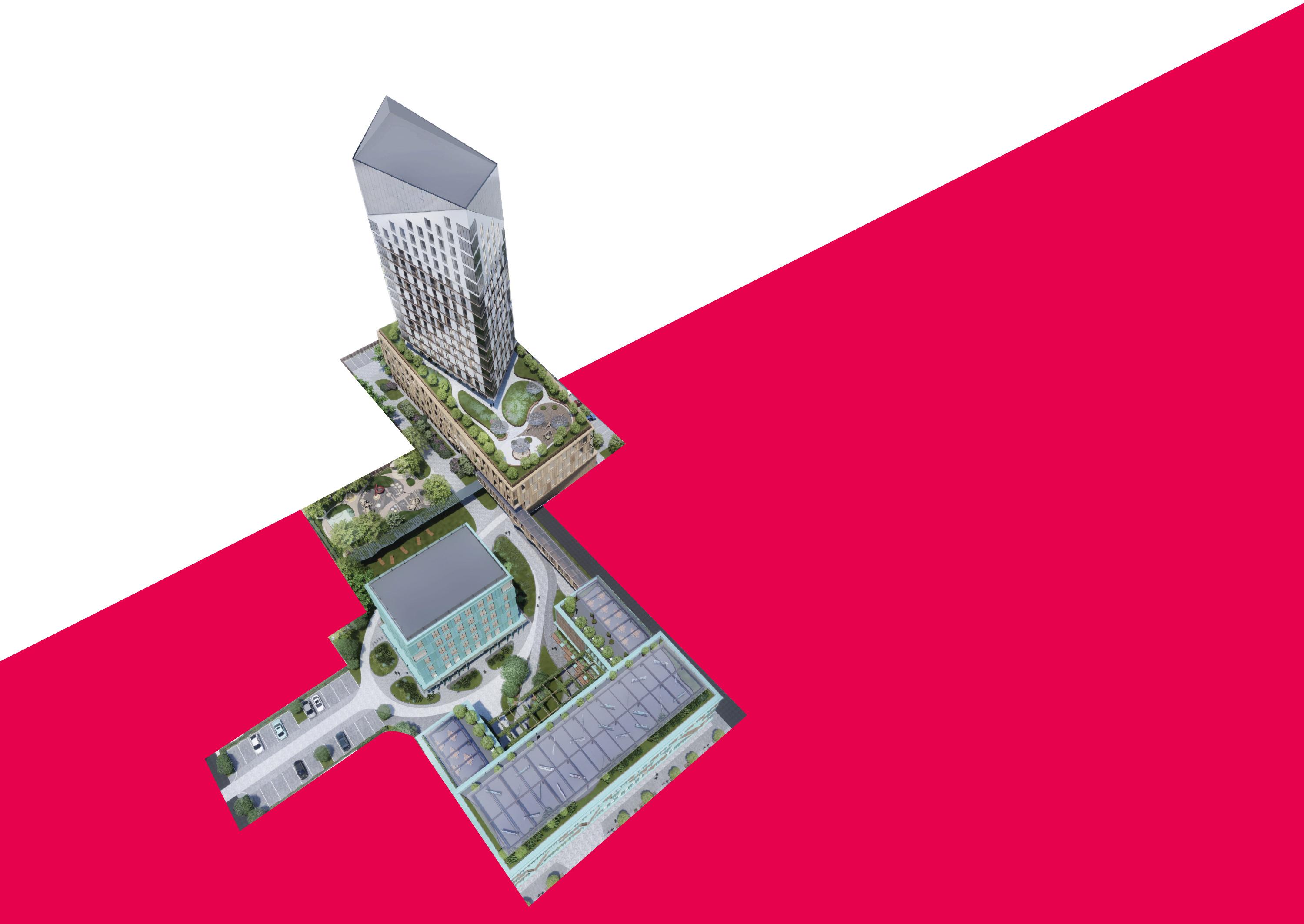 Вот так студия Лебедева предложила организовать пространство на земле между Российской, Карла Маркса и Красноармейской