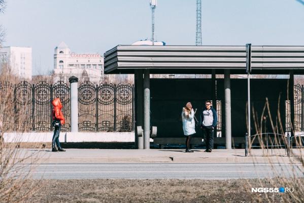 Так началась полная самоизоляция в Омске