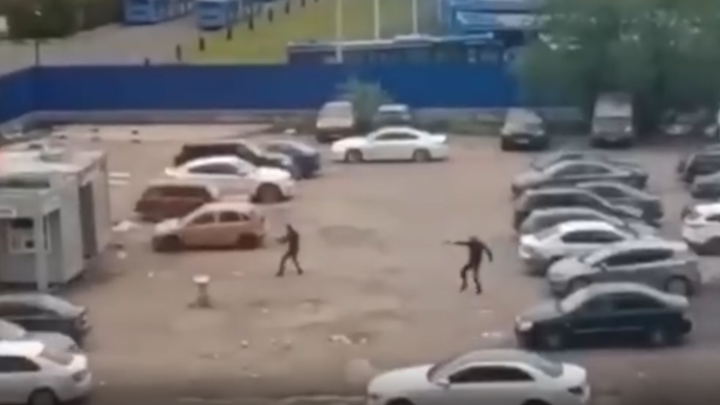 На юге Москвы произошла перестрелка между сотрудниками ритуальной службы. Есть раненый
