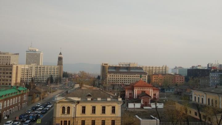 На неделе в Красноярске зафиксировали загрязнение воздуха по трем показателям
