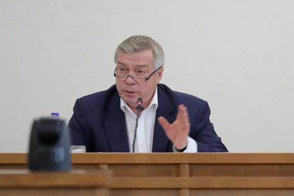 Голубев готовит поправки в постановление правительства