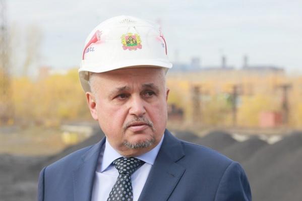 Сергей Цивилев возглавляет Кузбасс с 1 апреля 2018 года