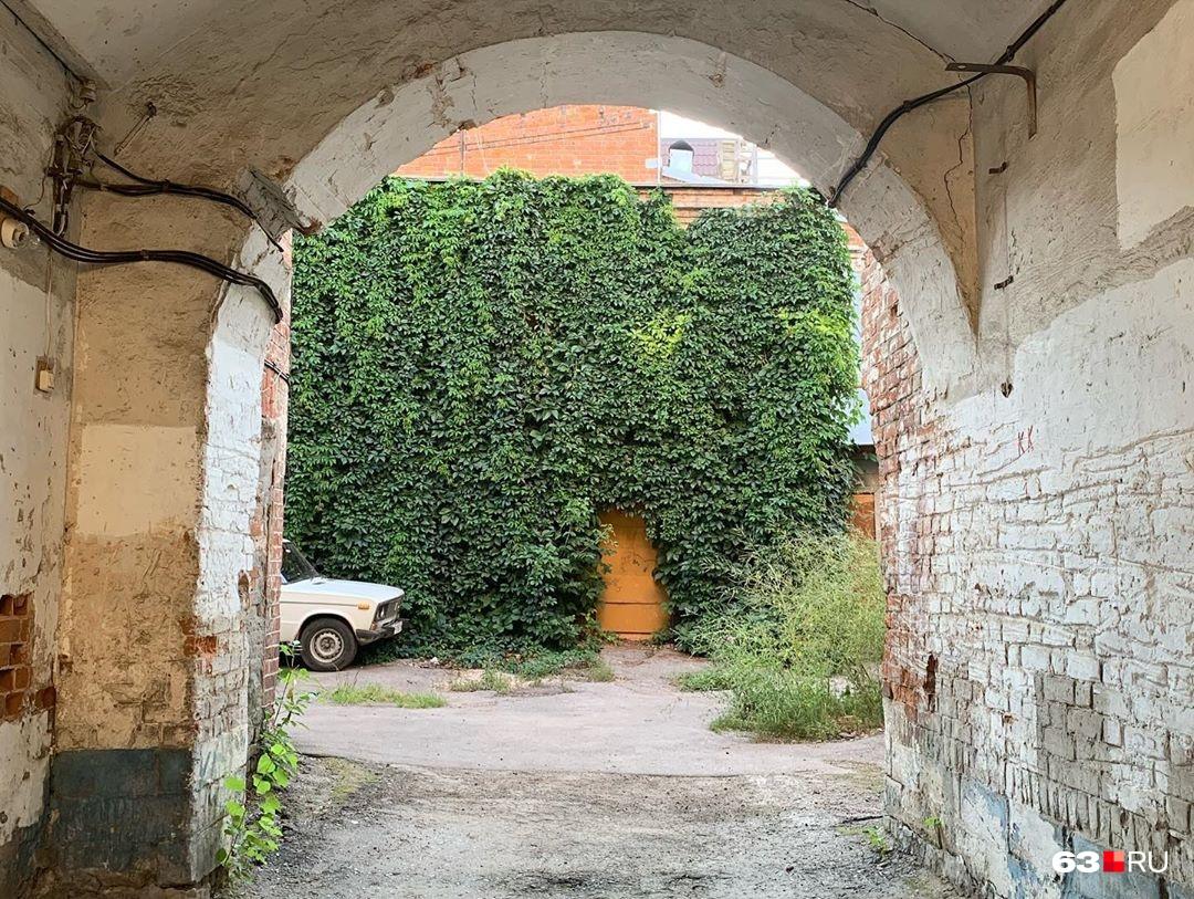 Старые дворики на Чапаевской сохранили свой аутентичный облик