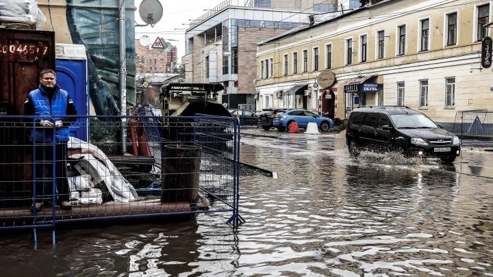 Нижегородскую область ждёт аномально холодный октябрь и подозрительно тёплый февраль
