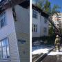 Жильцам сгоревшего в Северодвинске дома предложили временное жильё