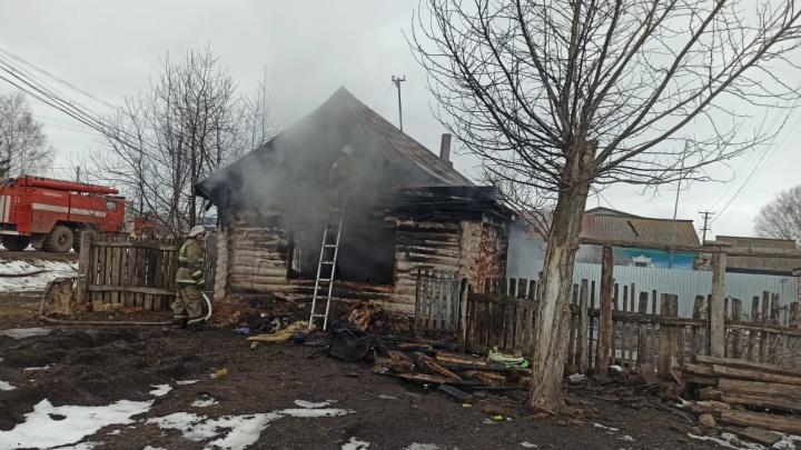 В Башкирии в пожаре погиб двухлетний малыш