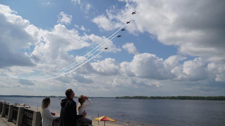 Рев двигателей и высший пилотаж: как в Самаре прошло авиашоу реактивных самолетов