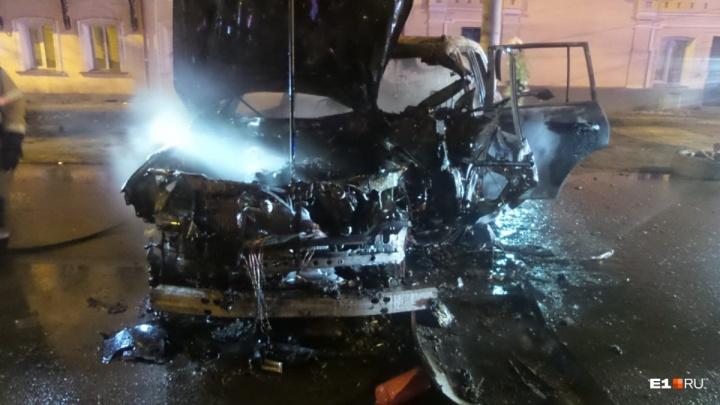 Стало известно, кто был за рулем Lexus c «блатными» номерами в смертельном ДТП на Розы Люксембург