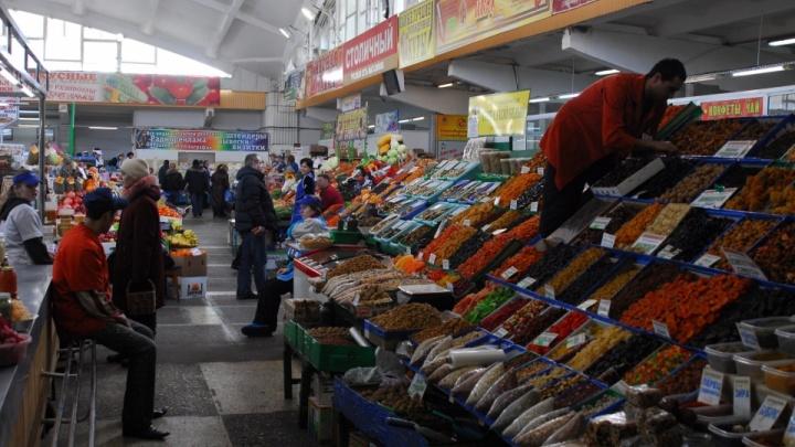 Губернатор разрешил работать продуктовым рынкам в Новосибирске