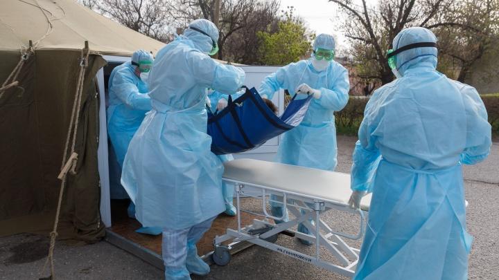 54 ребенка: в больницах Волгограда с подозрением на коронавирус лежат 948 человек