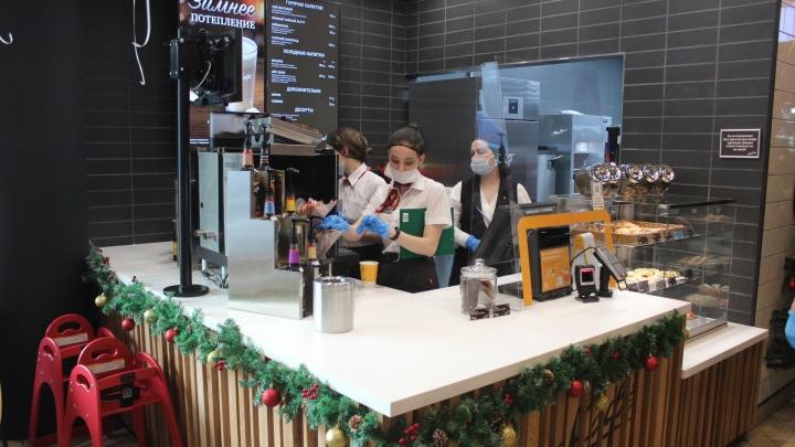 «Макдоналдс» открыл на площади Маркса бургерную с кофейней