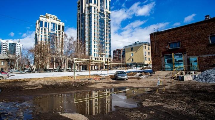 Раньше было море зелени: новосибирцы просят новый сквер на месте проблемного пустыря в тихом центре