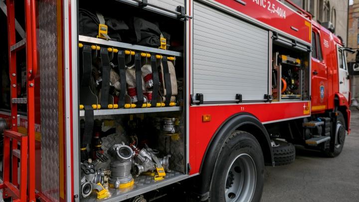 На Вильского эвакуировали половину дома из-за пожара в одной из квартир