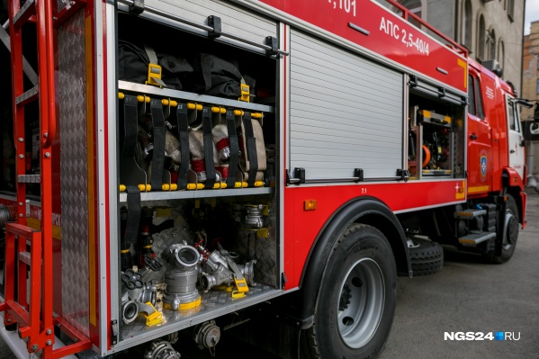 Пожар начался утром субботы, 28 ноября